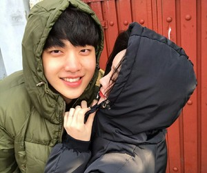 asian, couple, and ulzzang image