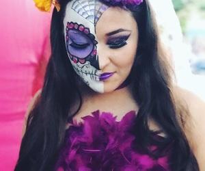 makeup, diademuertos, and catrina image