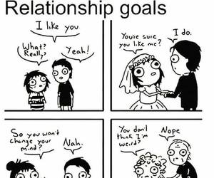 Relationship, funny, and goals image