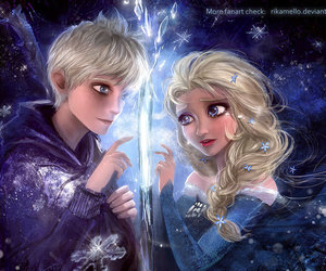 frozen, disney, and jack frost image