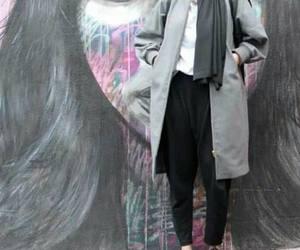 fall, ootd, and hijabista image