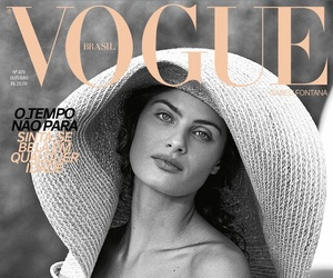 fashion, girl, and vogue image
