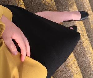 yellow, mustard yellow, and sidewalk image