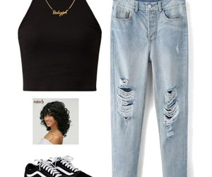 necklace, outfit, and outfits image