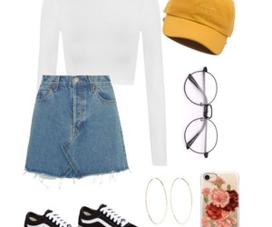 converse, Polyvore, and outfit ideas image