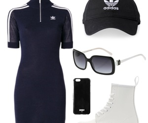 adidas, blue, and outfits image