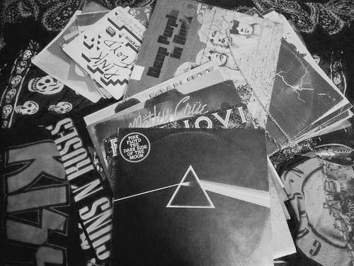 music, Pink Floyd, and Guns N Roses image
