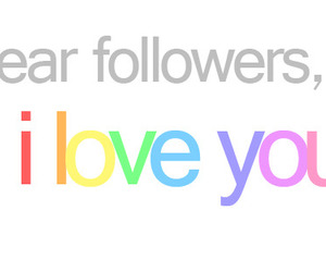 followers, love, and I Love You image