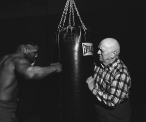 black, boxing, and fighter image
