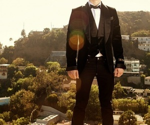 background, black, and handsome image