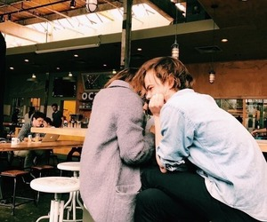 stranger things, charlie heaton, and couple image
