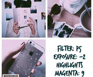 filter, vsco, and photo editing image