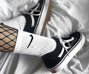 nike, sneakers, and vans image