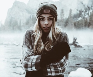 winter, girl, and tumblr image