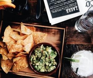 food, orange, and green image