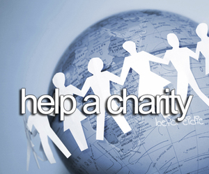 charity, before i die, and help image
