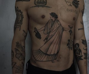 tattoo, boy, and tumblr image