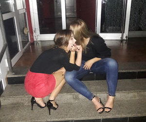 best friend, drunk, and bff image