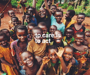 care, children, and happiness image