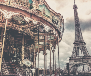 paris, fun, and love image
