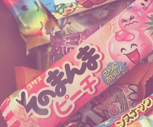 aesthetic, asian, and candy image