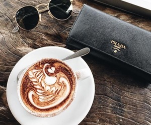 coffee, food, and wallet image