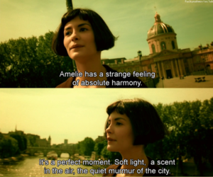 amelie, quotes, and movie image