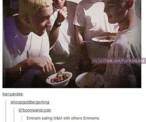 eminem, funny, and m&m's image