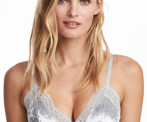 bra, grey, and H&M image