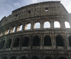 architecture, colosseum, and italy image