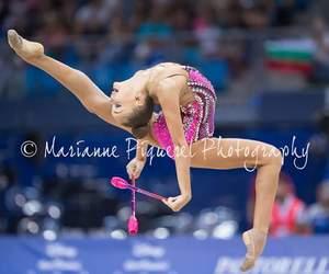 clubs, rhythmic, and rhytmic gymnastic image