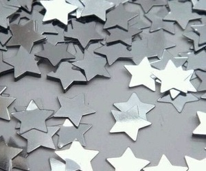 aesthetic, stars, and silver image