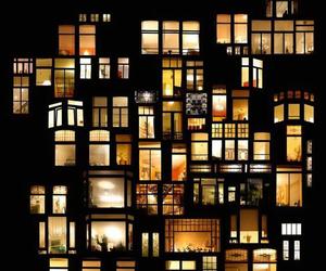 lights, سهر, and night image