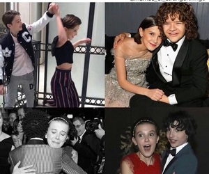stranger things, millie bobby brown, and dustin image
