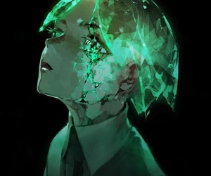 anime and houseki no kuni image