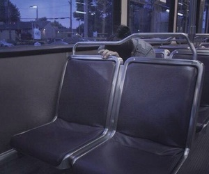 aesthetic, grunge, and bus image