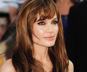 Angelina Jolie, glamour, and fashion image