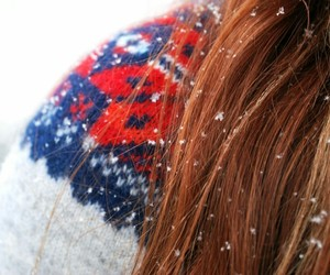 girl, winter, and cloth image