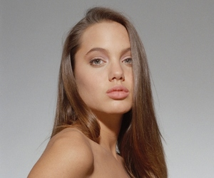 Angelina Jolie, glamour, and makeup image