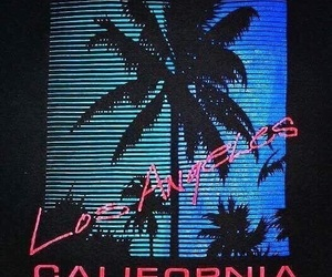 aesthetic, california, and wave image