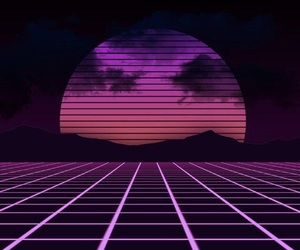 aesthetic, 80s, and neon image