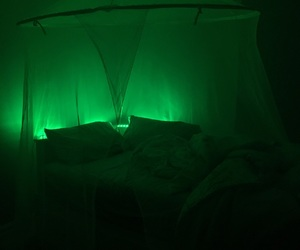 aesthetic, canopy, and bed image