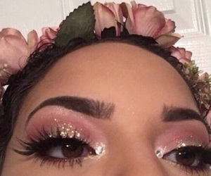 pink, beauty, and flower child image