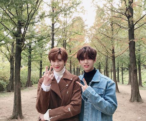 pentagon and hongseok image