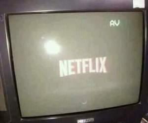 netflix, tv, and vintage image