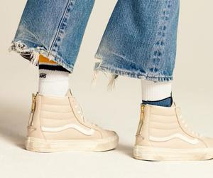 jeans, sneakers, and tenis image