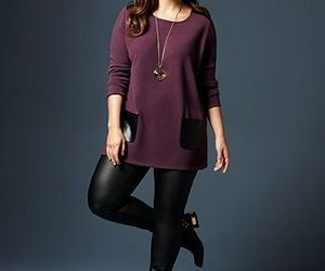 curvy, outfit, and fashion image