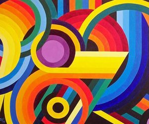 art, multicolour, and multicolore image