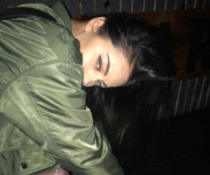 girl, aesthetic, and dark image