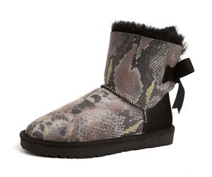 ankle boots, black boots, and snow boots image